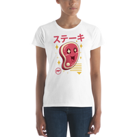 Kawaii Steak Women's short sleeve t-shirt