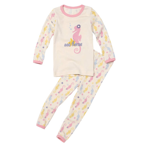 best organic long sleeve pj set