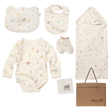 Load image into Gallery viewer, newborn organic clothing set