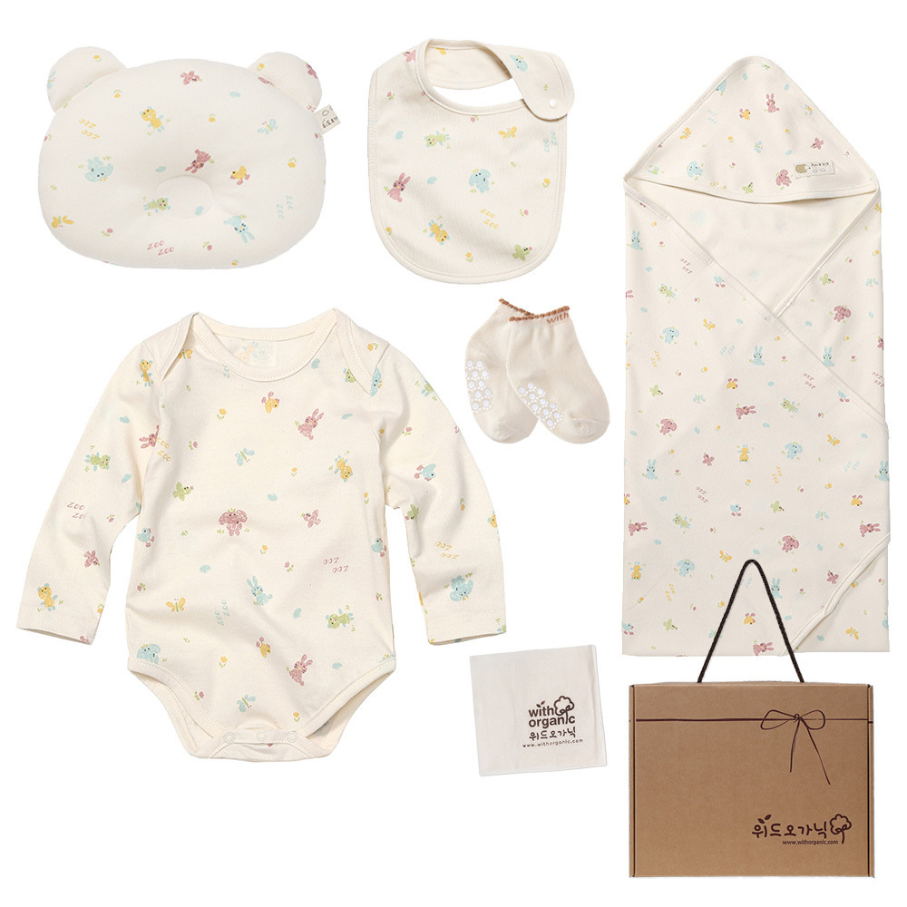 newborn organic clothing set