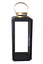 Load image into Gallery viewer, Black & Gold Lantern - Large