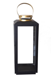 Black & Gold Lantern - Large