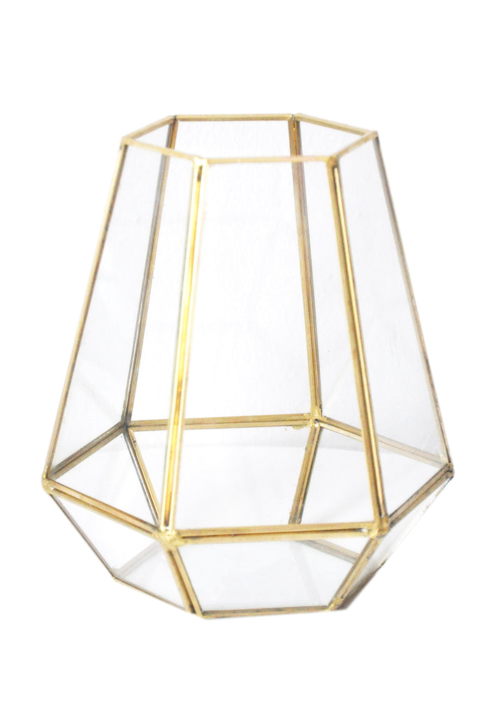 Gold Geometric - Open Top