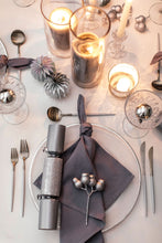 Load image into Gallery viewer, Silver & White Cutlery - Full Set