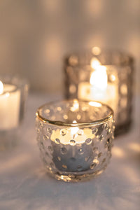 Gold Rimmed Dotted Votive