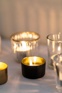 Black Tealights