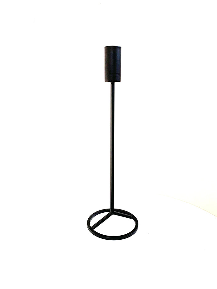 Tall Black Candle Stick
