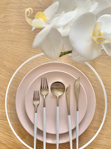 Pink Dinner Plate - Main