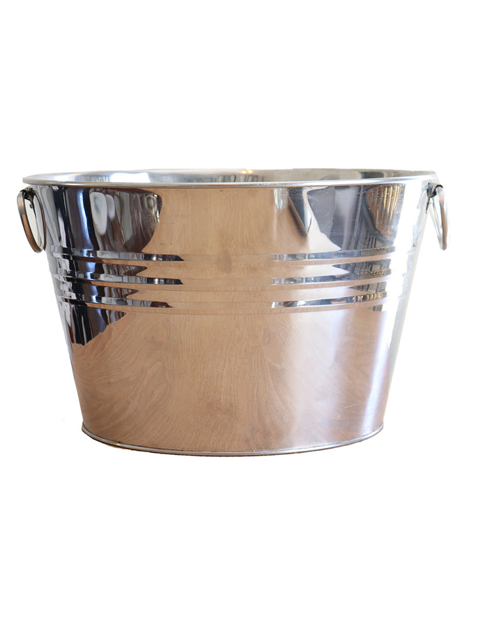 Silver Drinks Bucket