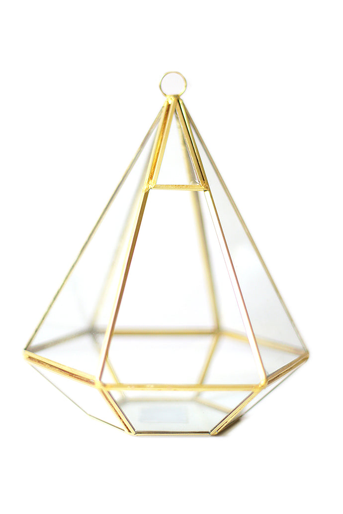 Gold Geometric - Closed Top