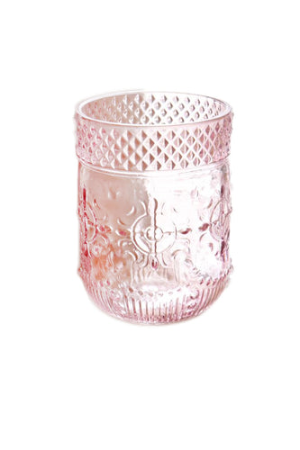 Pink Water Glass