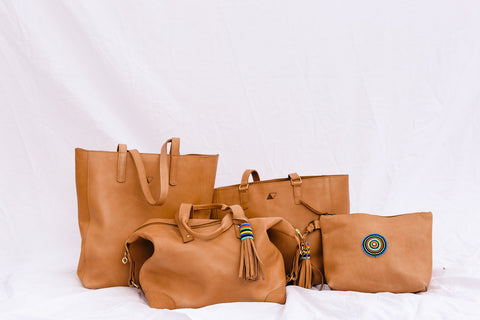 Abby Alley leather bags