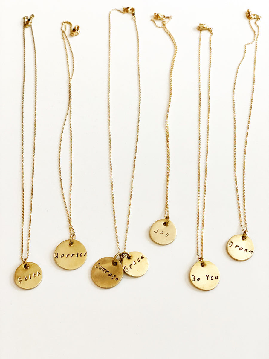 Message Necklaces