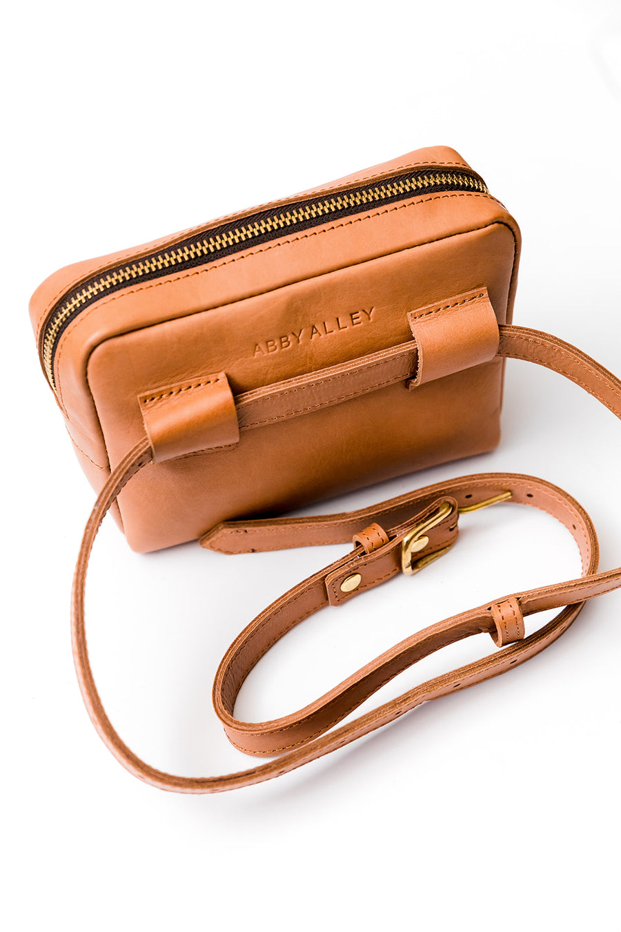 Brenda Belt Bag, Chestnut