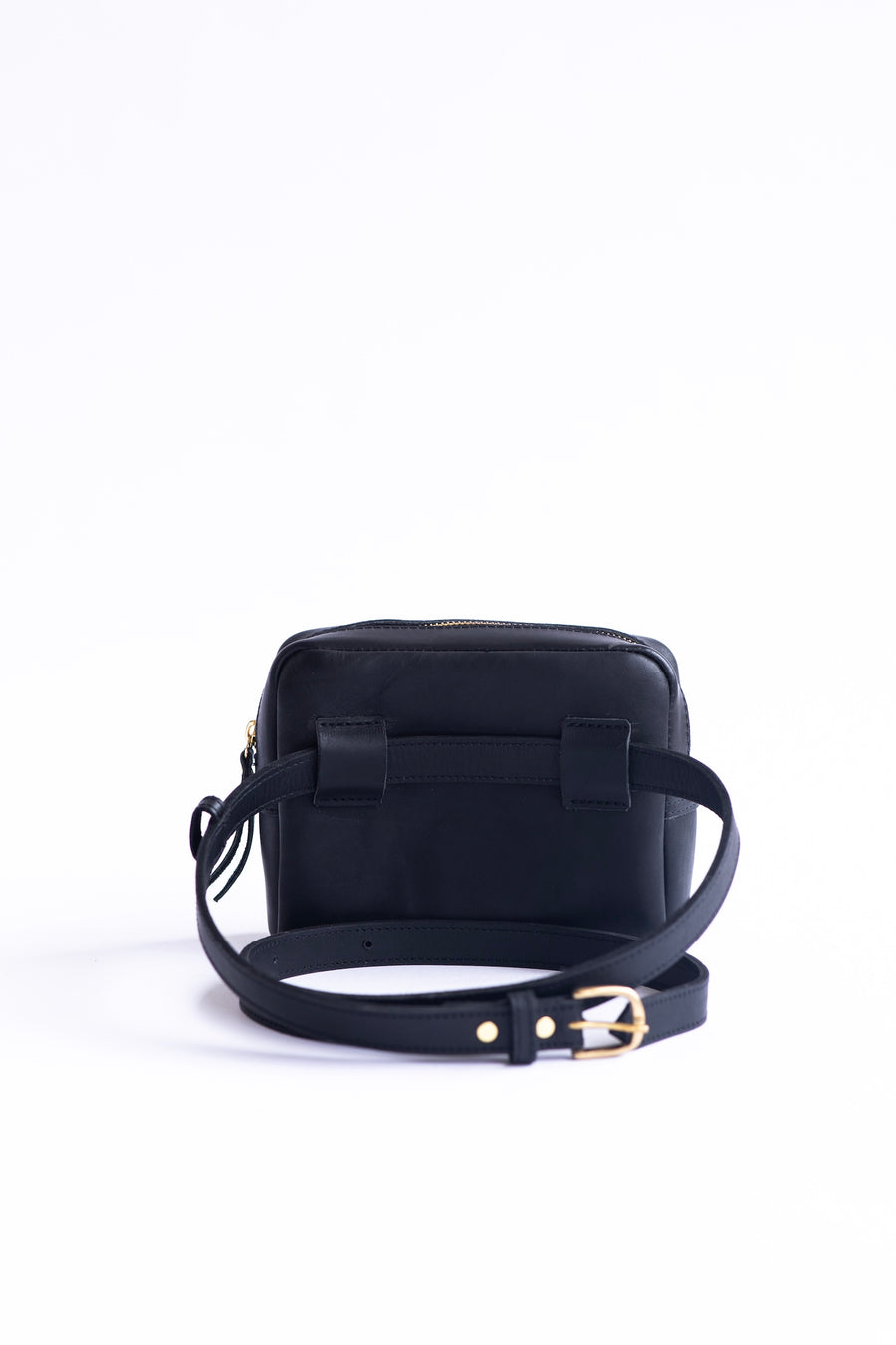 leather belt bag, fanny pack