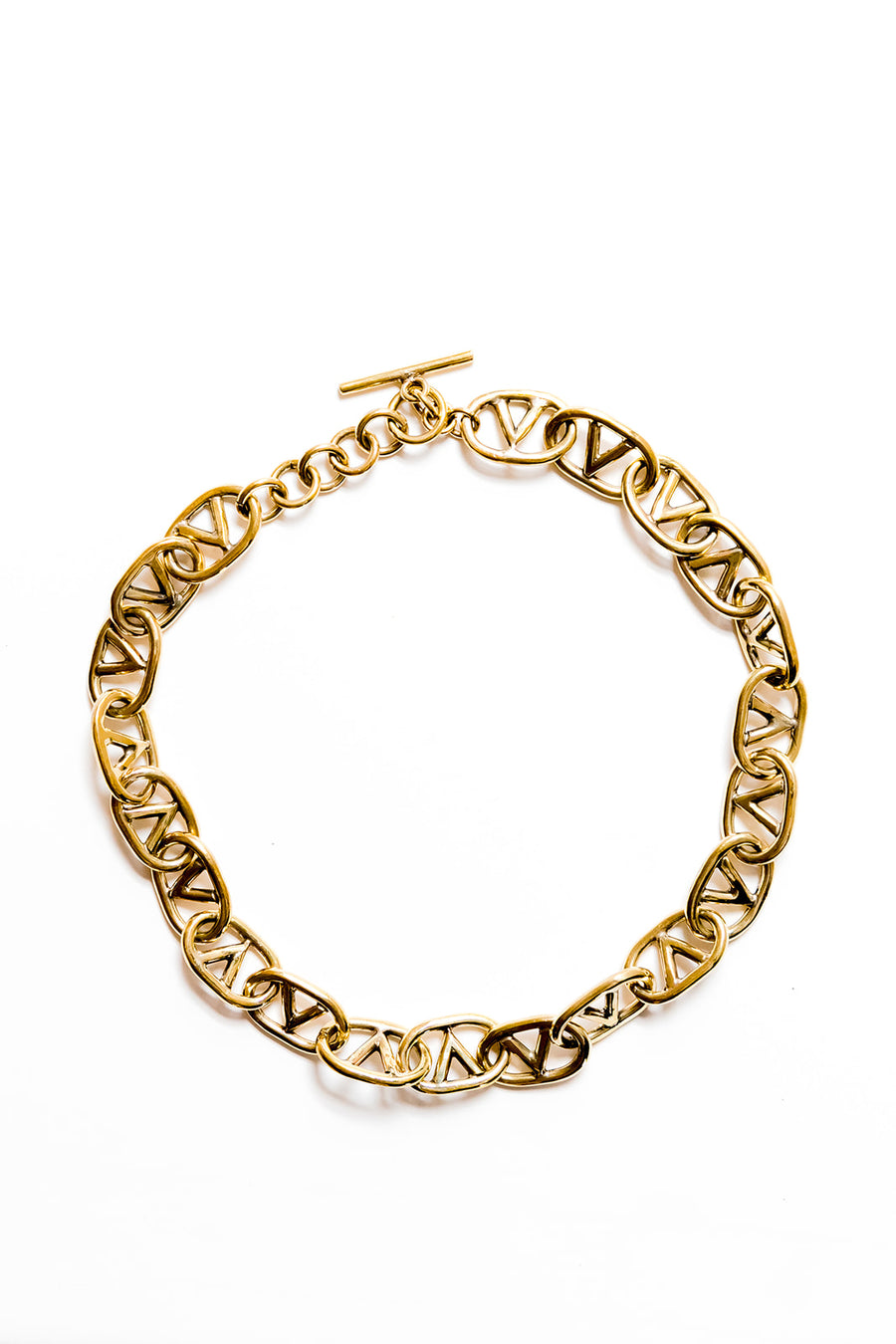 Olivia necklace chainlink