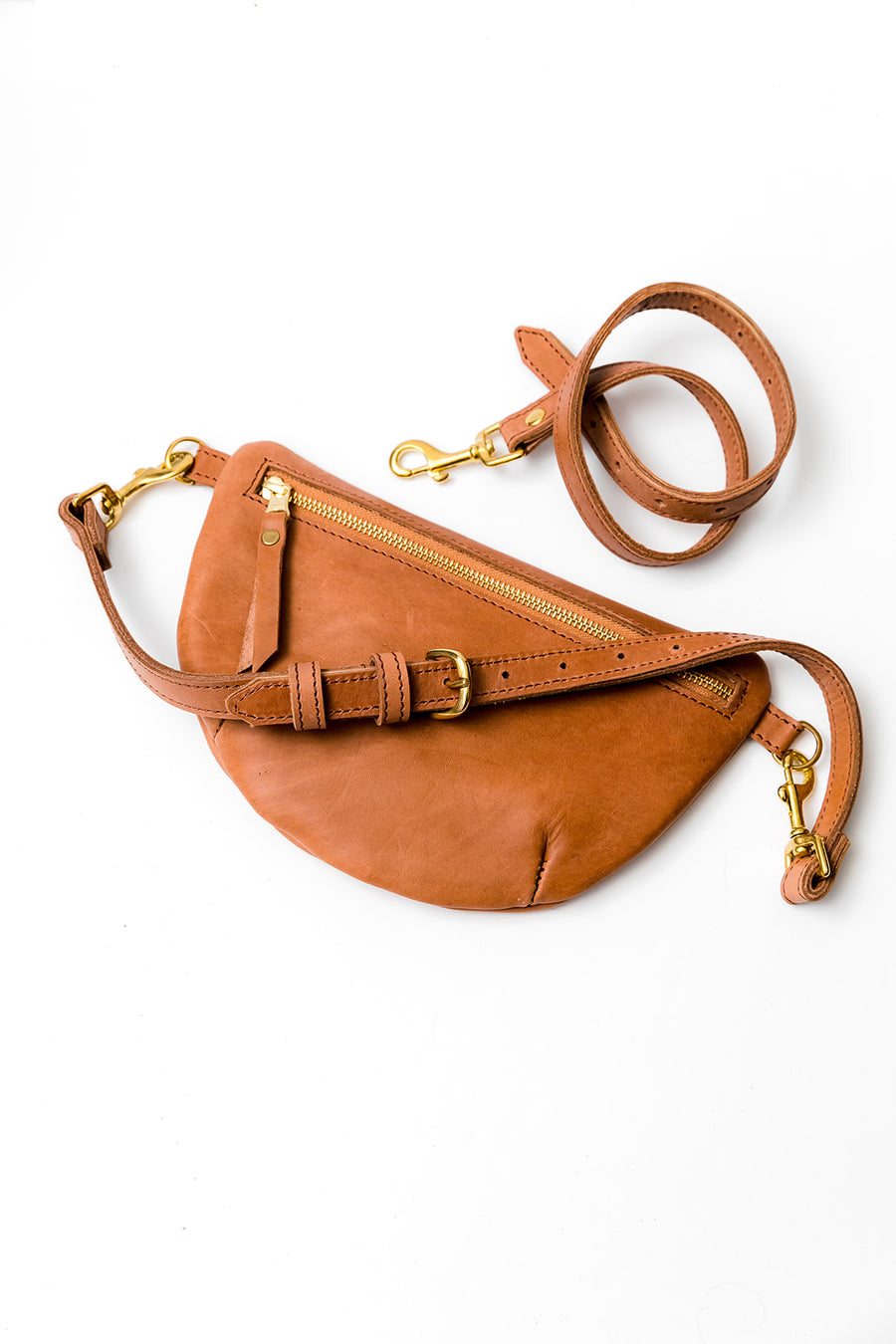 Sling Bag, Chestnut