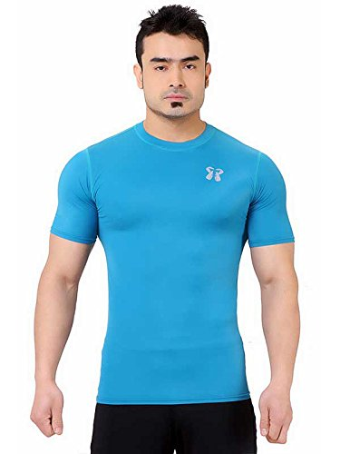 Drift Compression Short Sleeves Atlantic Blue