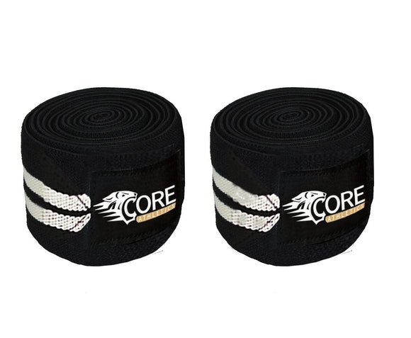 Core Athletics Weightlifting Knee Wraps