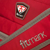 Fitmark Power duffel bag (BLACK / RED), Gym bag, Sports bag, Outdoor bag, weekender bag, weekend bag