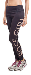 Boss Girl Leggings- Gym Tights, Active Leggings, Gym Pants, Lower for Women, Crossfit Clothing, Yoga Pants, Running Pants, Sports Pants for Women