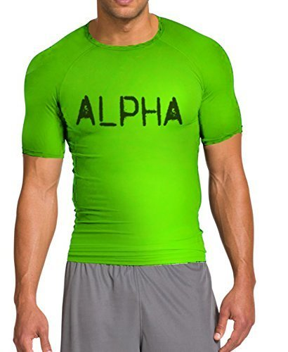 Alpha Shield Compression Shirt Half Sleeve