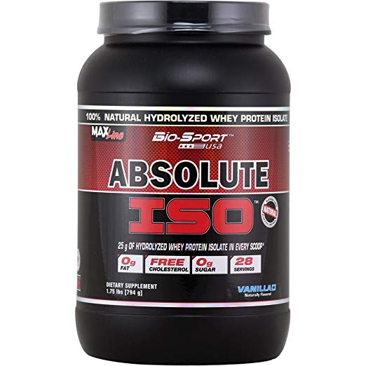 BIO SPORTS ABSOLUTE ISO VANILLA 1.75Lbs