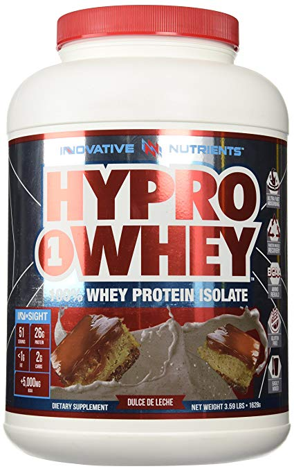 Innovative Nutrients Hypro1whey, Post Workout Pure Whey Isolate, Vanilla, 3.59 Pound