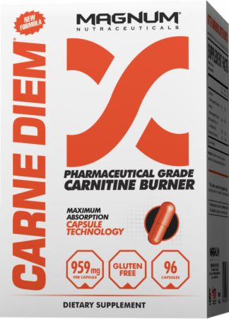 MAGNUM CARNE DIEM: L-Carnitine Based Fat Burner Designed to Maximize The Uptake of L-Carnitine Into Muscle Tissue