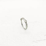 Ripple Ring in Silver