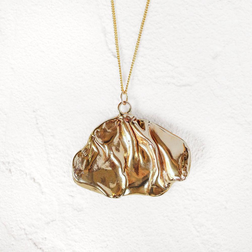 Big Folds Necklace