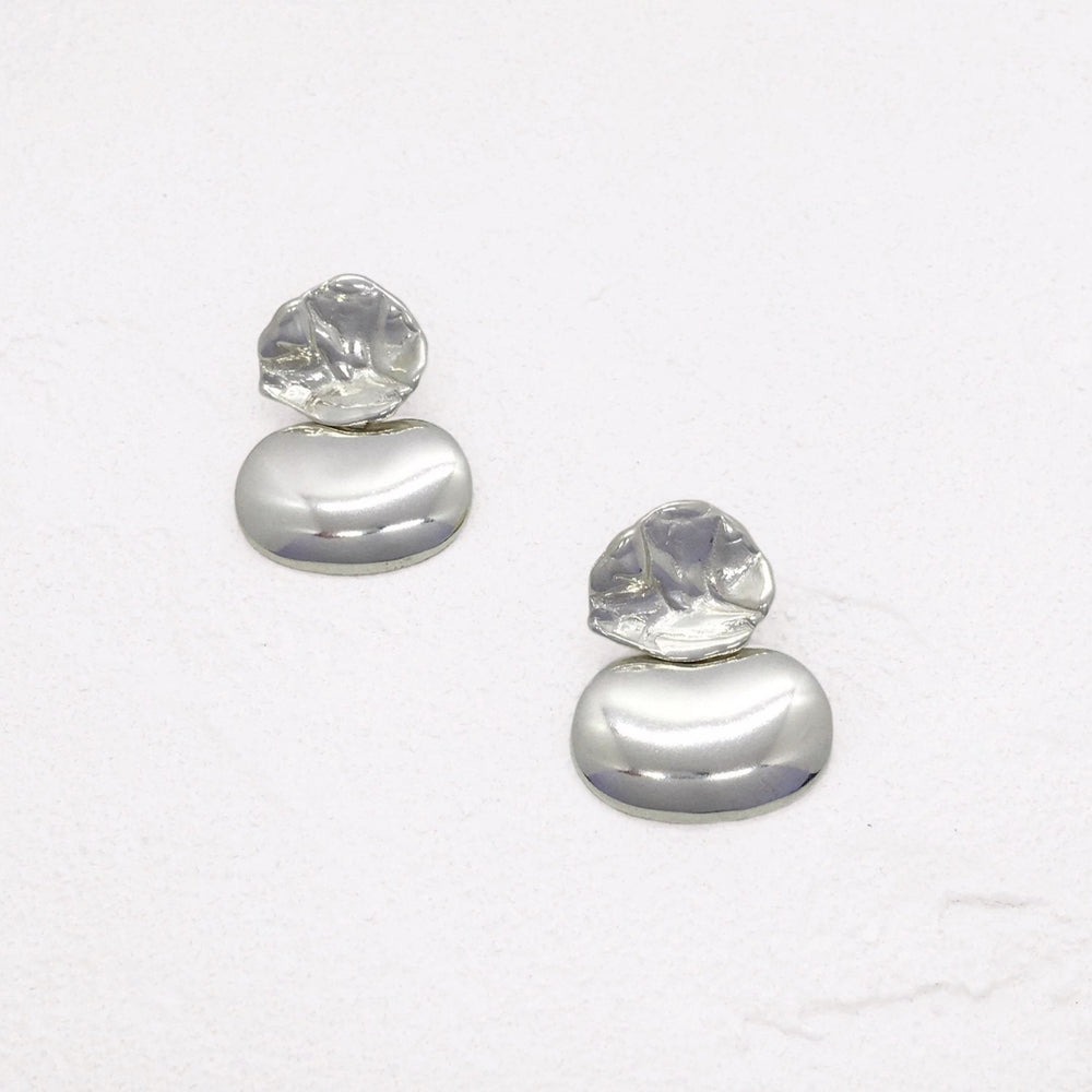 Ostwald Earrings in Silver