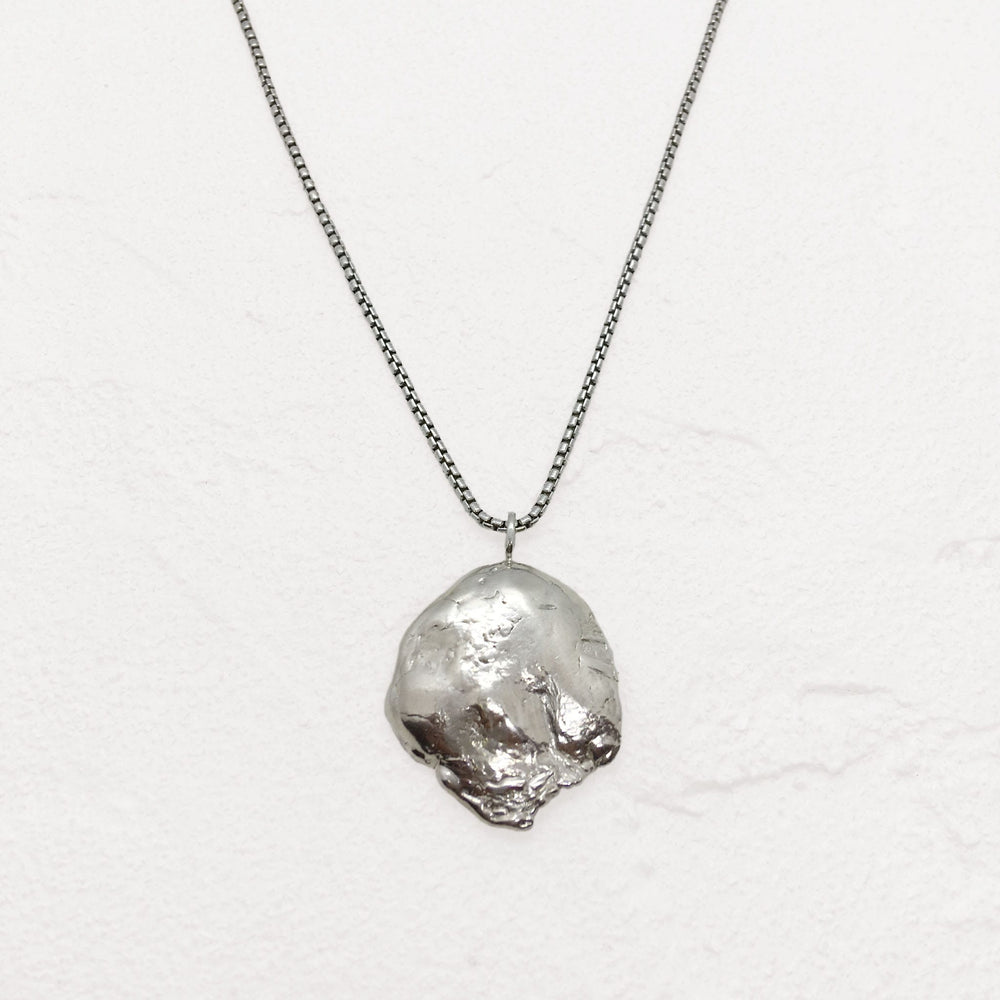 Quarry Necklace in Silver