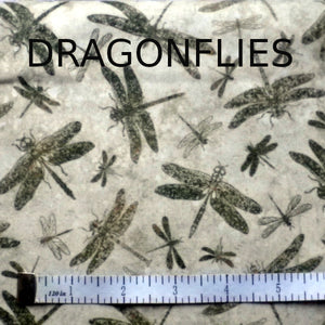 FACE MASK, DRAGONFLIES