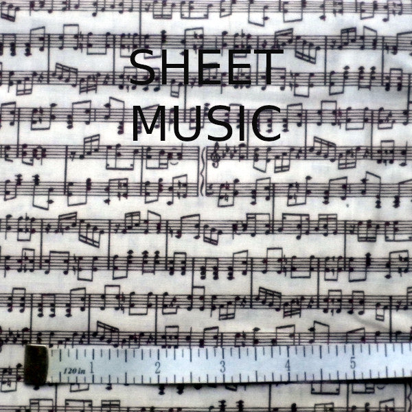 FACE MASK, SHEET MUSIC