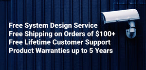 Free System Design Free Shipping on $100+ Free Support 5 Year Warranty