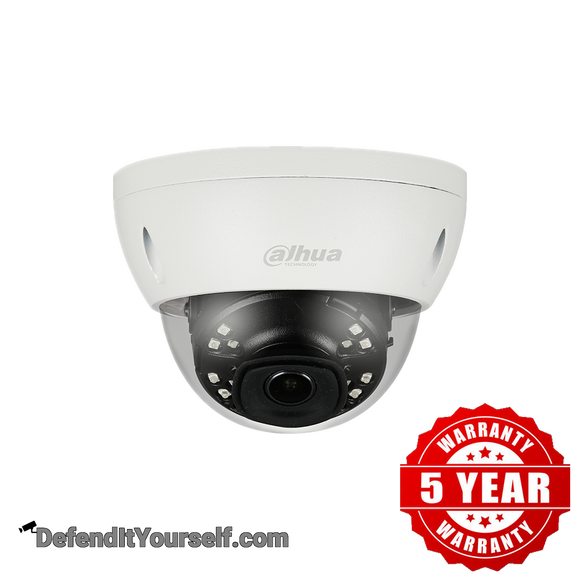 Dahua 2MP IR Starlight 2.8 mm ePoE Mini Dome N24CL52 - DefendItYourself.com IP Camera