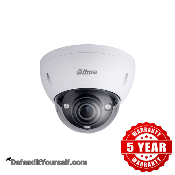 Dahua 2MP IR Starlight Vari-focal ePoE Dome N25CL5Z - DefendItYourself.com IP Camera