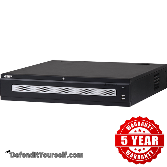 Dahua 4K 64 Channel 2U NVR DHI-NVR6A08-64-4KS2 - DefendItYourself.com NVR