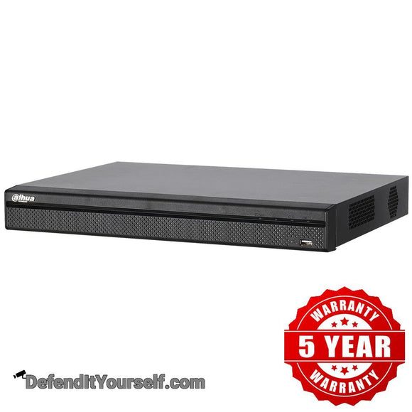 Dahua 4K 8 Channel 1U Network Video Recorder (NVR) N42B2P - DefendItYourself.com NVR