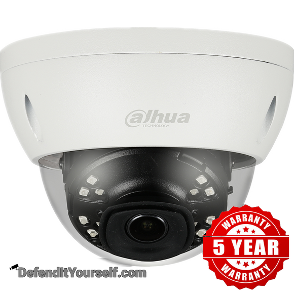 Dahua 4K 8MP Starlight IR 2.8mm ePoE Mini Dome N84CL52 - DefendItYourself.com IP Camera