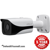 Dahua 4K 8MP Starlight IR 4mm ePoE Mini Bullet N84CB34 - DefendItYourself.com IP Camera