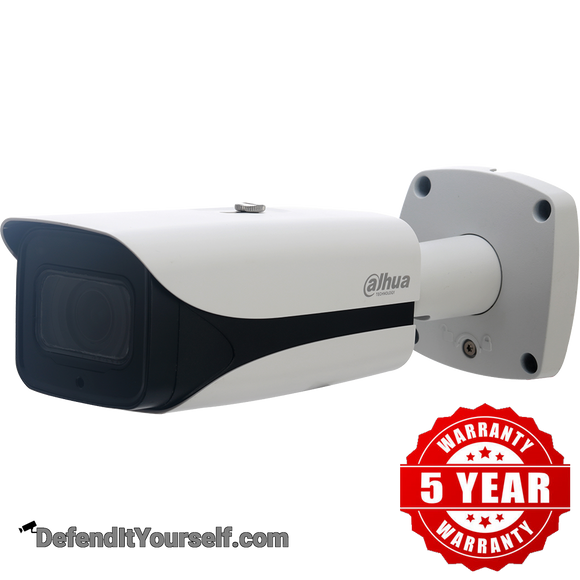 Dahua 4K 8MP Starlight IR Long-distance Vari-focal ePoE Bullet DH-IPC-HFW5831EN-Z5E - DefendItYourself.com IP Camera