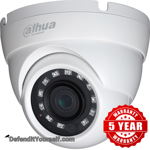 Dahua 4MP IR 2.8 mm Eyeball N41BK22 - DefendItYourself.com IP Camera