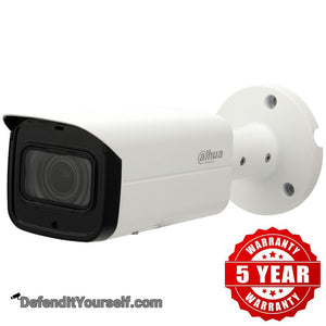Dahua 5MP Starlight IR Vari-focal IP Bullet N52BF3Z - DefendItYourself.com IP Camera