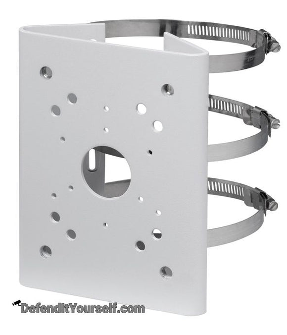 Dahua Security Camera Pole Mount Bracket PFA150 - DefendItYourself.com Accessories