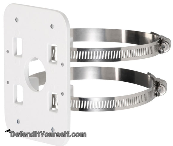 Dahua Security Camera Pole Mount Bracket PFA152-E - DefendItYourself.com Accessories