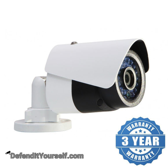 Hikvision OEM 2 Megapixel Mini Bullet IP CCTV Security Camera - DefendItYourself.com IP Camera
