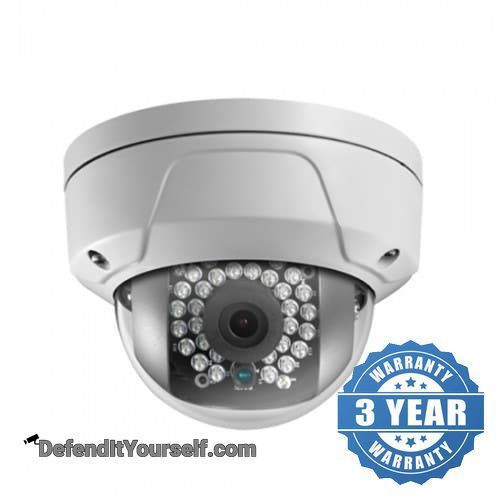 Hikvision OEM 2 Megapixel Vandal Proof Dome IP Security Camera - DefendItYourself.com IP Camera