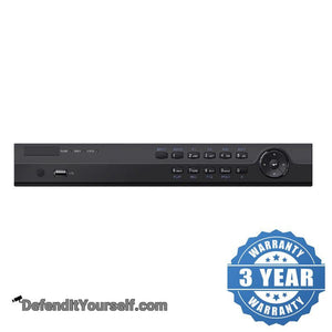 Hikvision OEM 4K 16 Channel NVR with 16 Ports PoE WD Purple HDD - DefendItYourself.com NVR